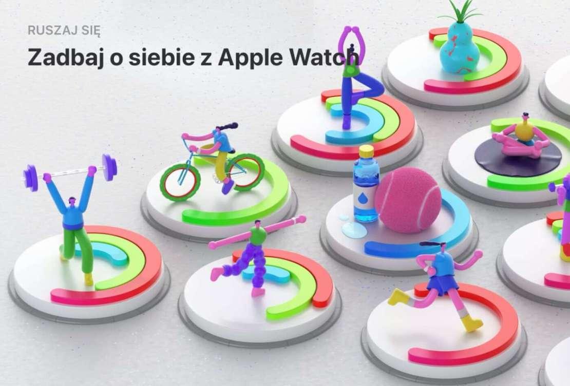 Zadbaj o siebie z Apple Watchem