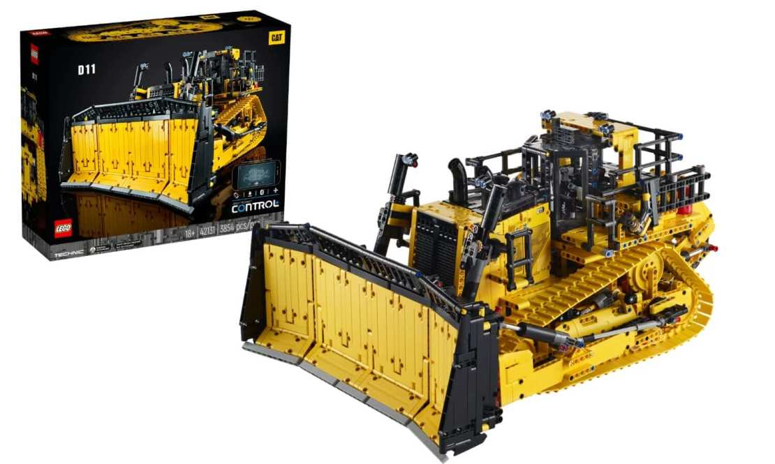 Sterowany przez aplikację buldożer Cat® D11