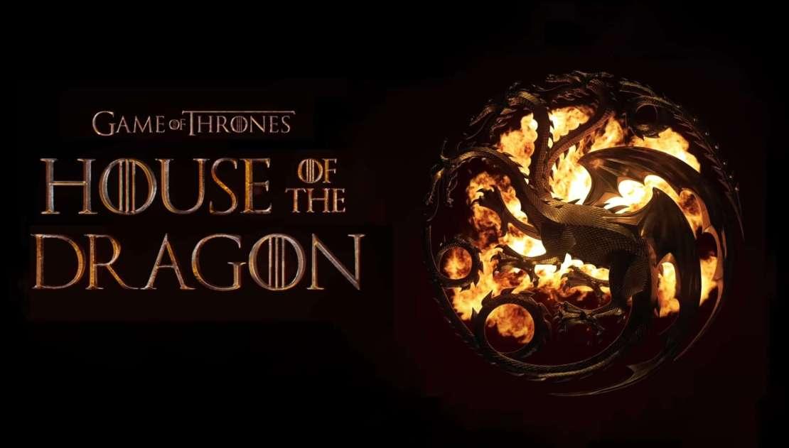 Games of Thrones: House of the Dragon (Ród smoka) logo