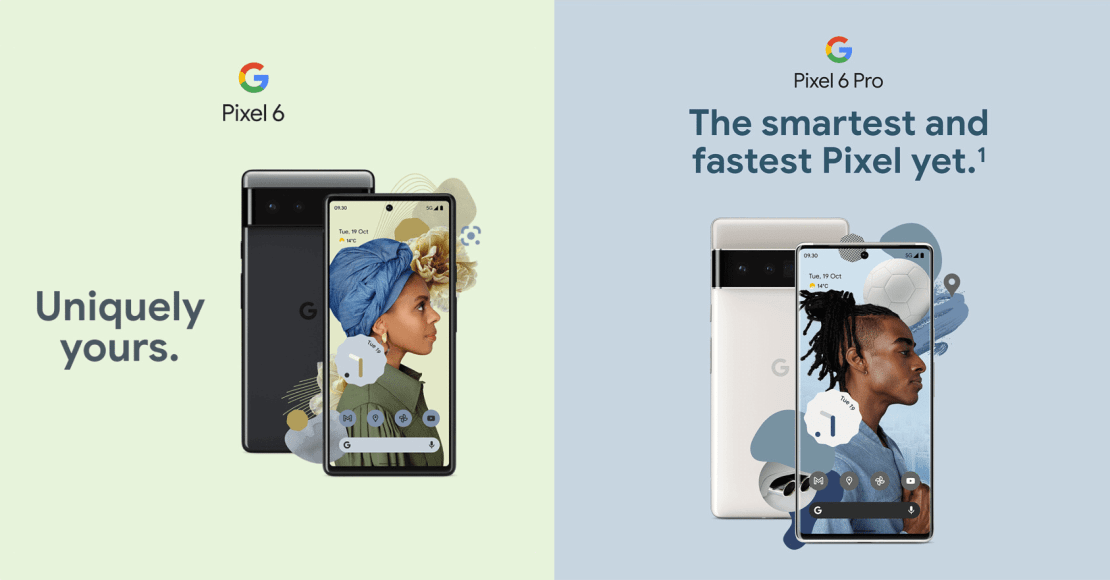 Pixel 6 i Pixel 6 Pro