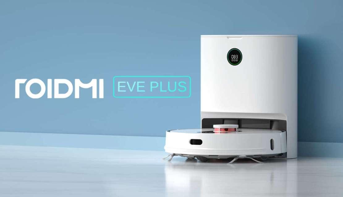 robot odkurzająco-mopujący Roidmi Eve Plus
