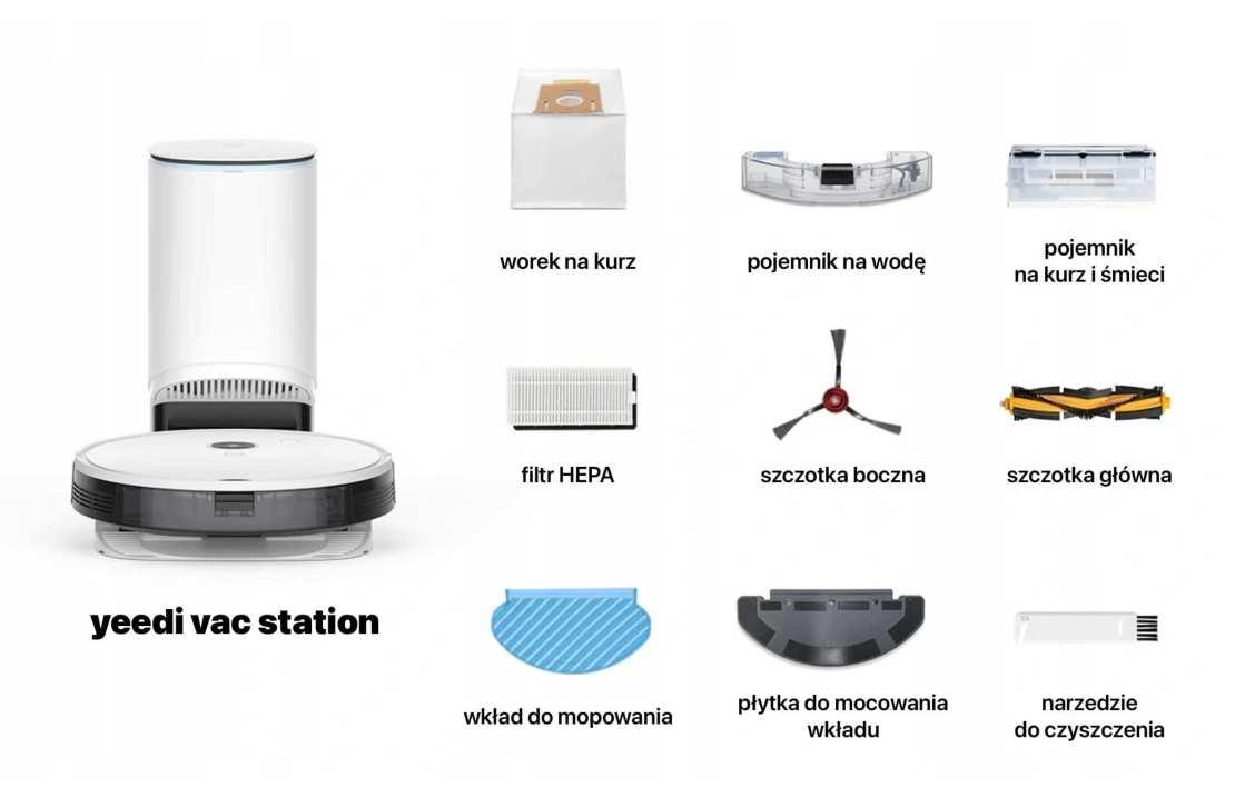 Akcesoria robota sprzątającego yeedi vac station