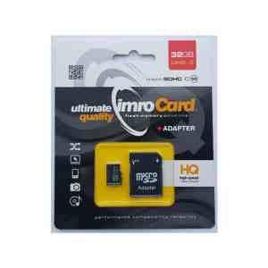IMRO Memori MicroSDHC 32GB kl.10 kartica sa adapterom