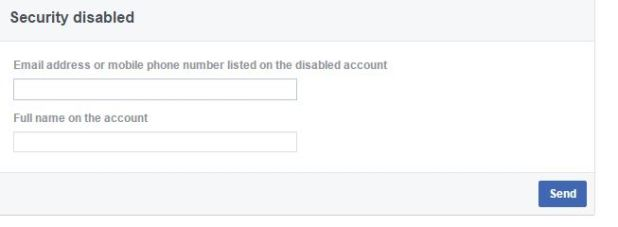 How to recover disabled facebook account without id how to recover disabled facebook account ccuart Images