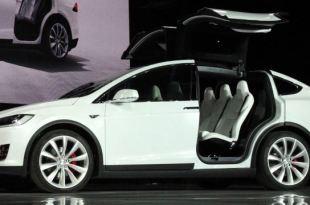 A Tesla Model X