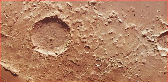 Discovered liquid water on Mars