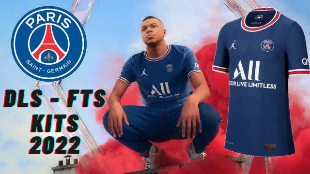 PSG Kits 2022 DLS 21 Logo FTS Paris Saint Germain