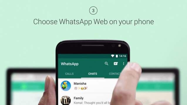 web whatsapp como usar