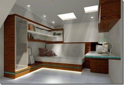 Guest Cabin desk
