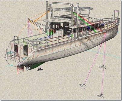 Paravane rigging System v2