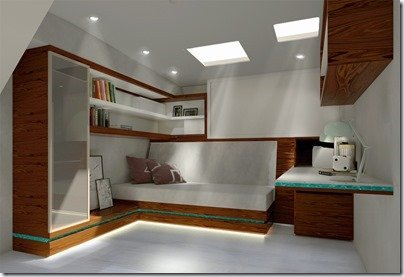 Guest Cabin V2 Fwd Stbd corner
