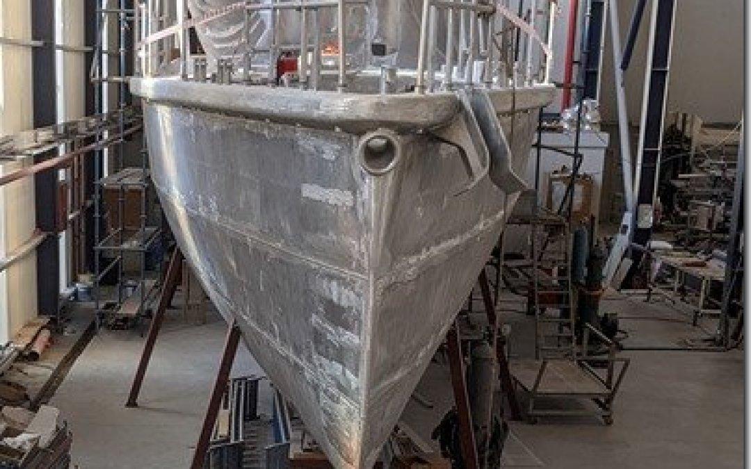New Year – New Boat–New Baby?  Progress Update XPM78-01 Möbius Dec 30-Jan 03, 2020