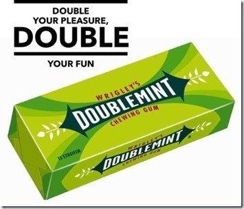 DoubleMint slogan image