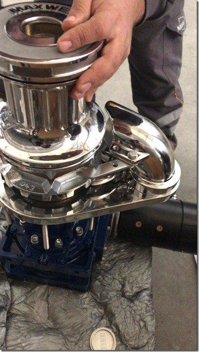 Maxwell Windlass assembly 2