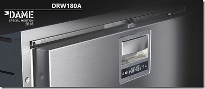Vitrifrigo DRW70L fridge DAME award shot