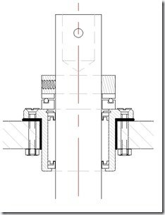 Jefa Thrust bearing section drawing