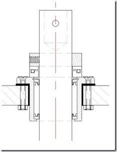 Jefa Thrust bearing section drawing