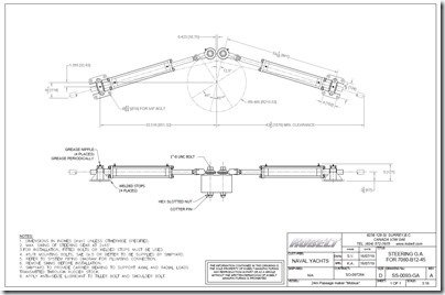 Kobelt steering cylinders dim drawing