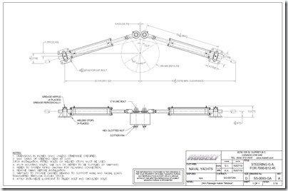 Kobelt steering cylinders dim drawing