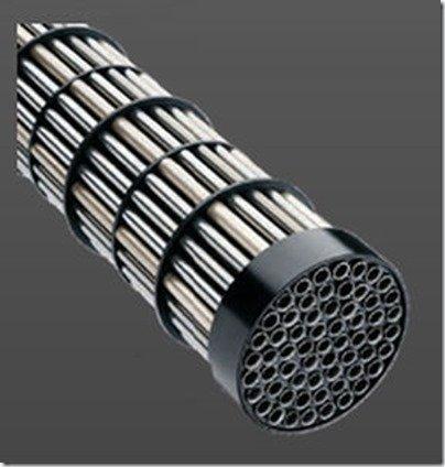 Bowman titanium inner tube heat exchanger