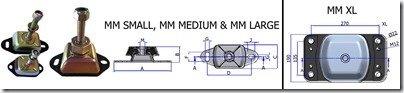 Engine isolation mounts image 1