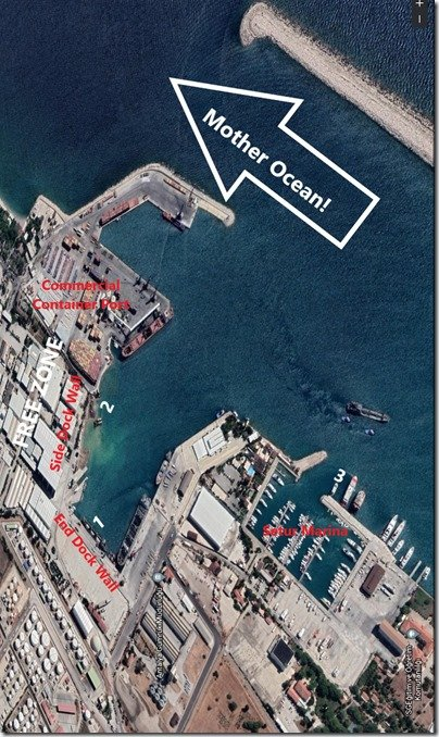 Free Zone   Setur Google Earth labelled