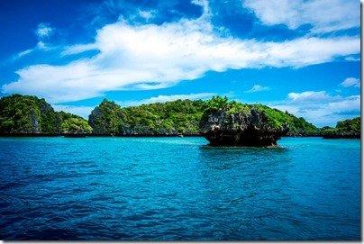 Lau floating islands
