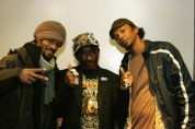 "(L) Troy Simms (C) Lee ""Scratch"" Perry (R) Omar Little"