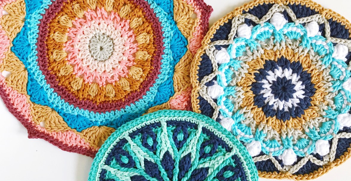 crochet mandalas