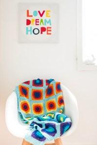 Prism Lap Blanket