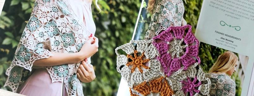 crochet shawl book photo