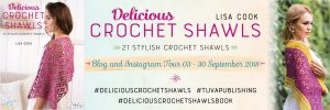 delicious crochet shawl banner