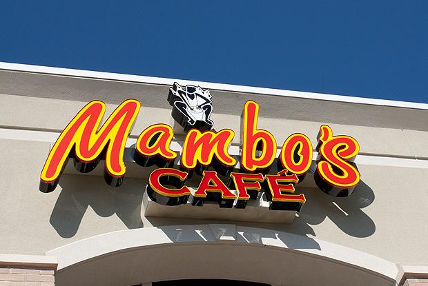 Mambos Sign Photograph