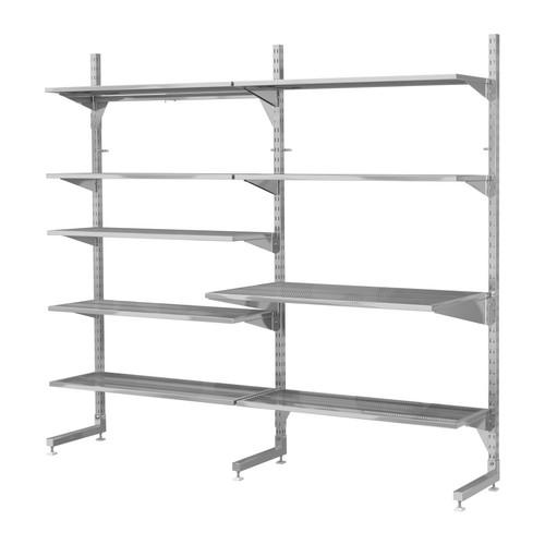 Mobili Lavelli Scaffalature Metallo A Parete Ikea