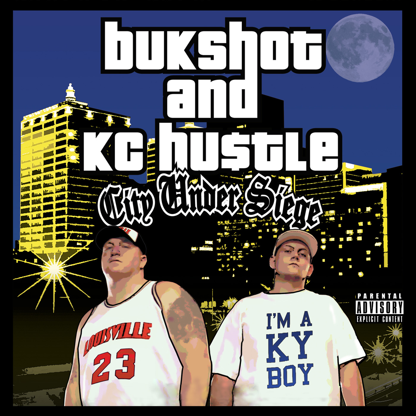 "Bukshot ""City Under Siege"" Double Disc CD"