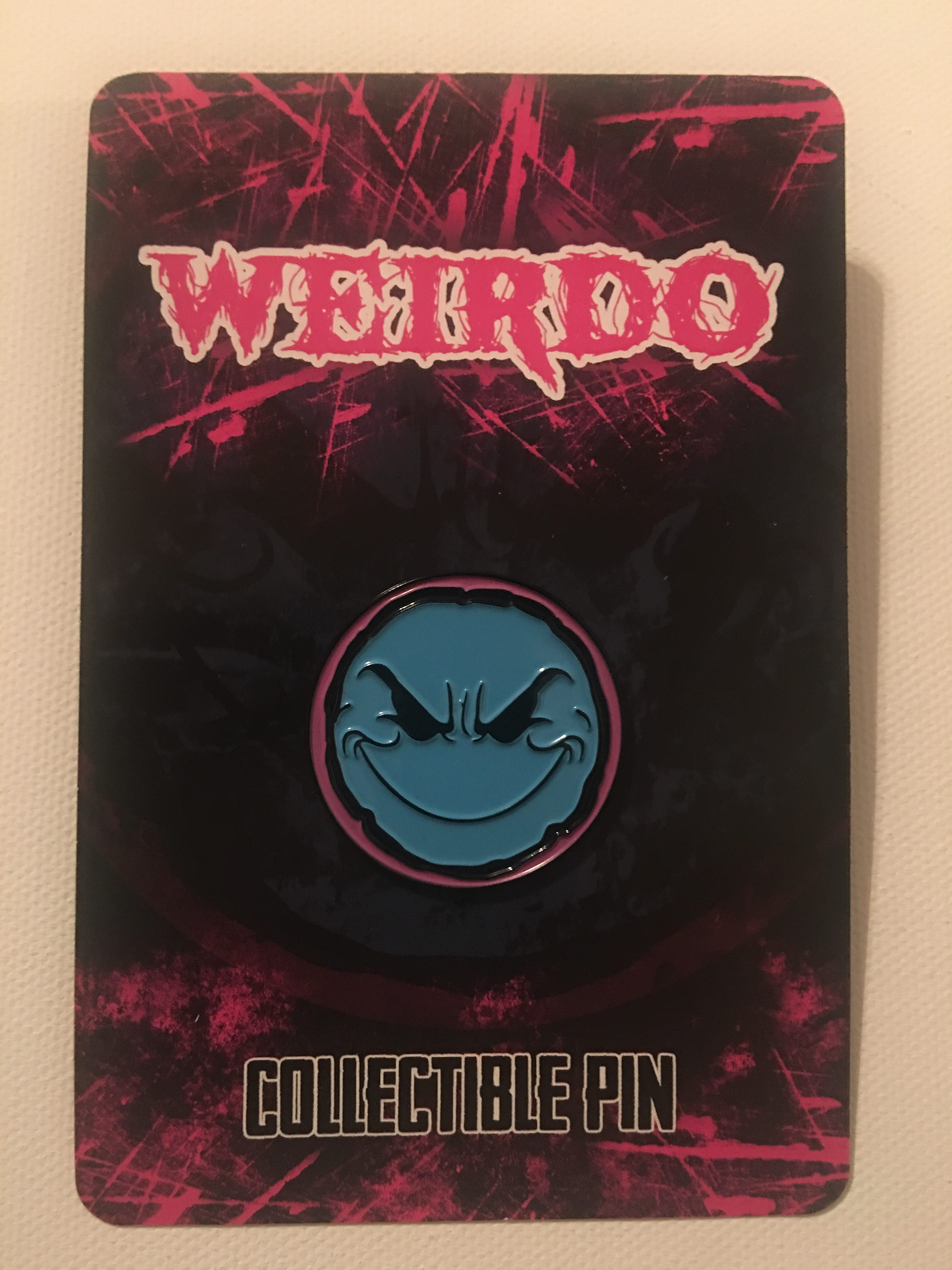 Weirdo Hat Pin (Cotton Candy)