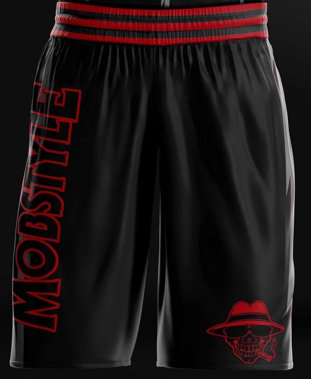 "Mobstyle ""Hellion"" Basketball Shorts"