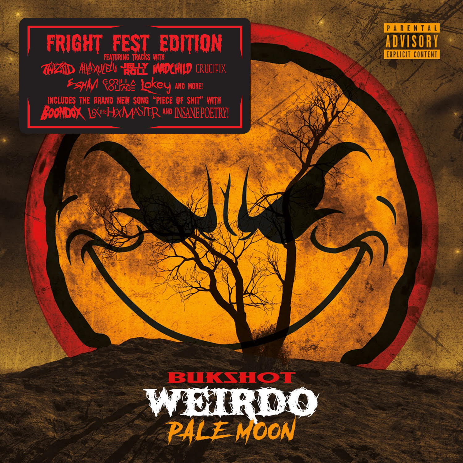 "Bukshot ""Pale Moon"" CD (Fright Fest Edition!)"