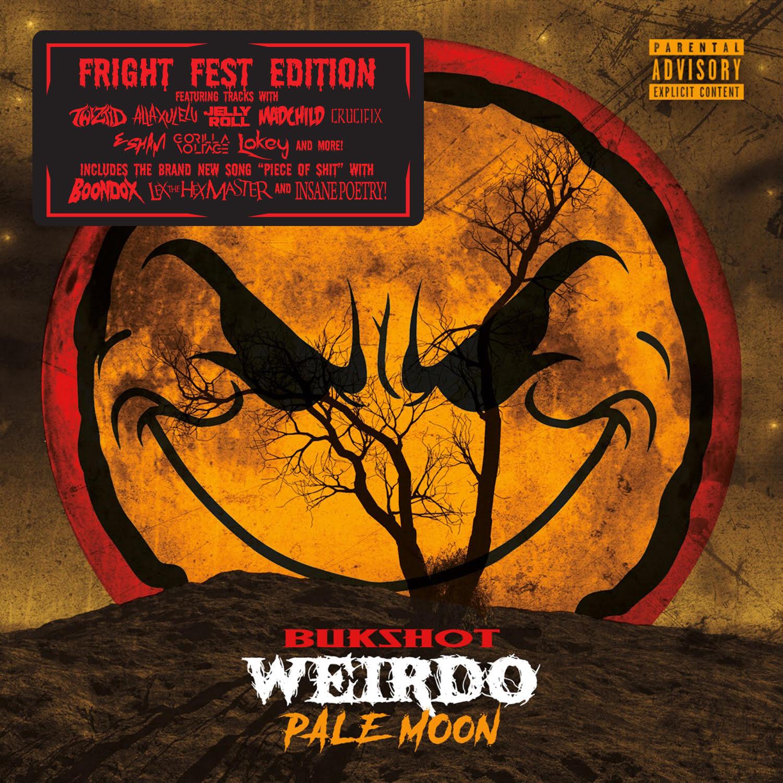 "Bukshot ""Pale Moon"" CD (Fright Fest Edition!)"