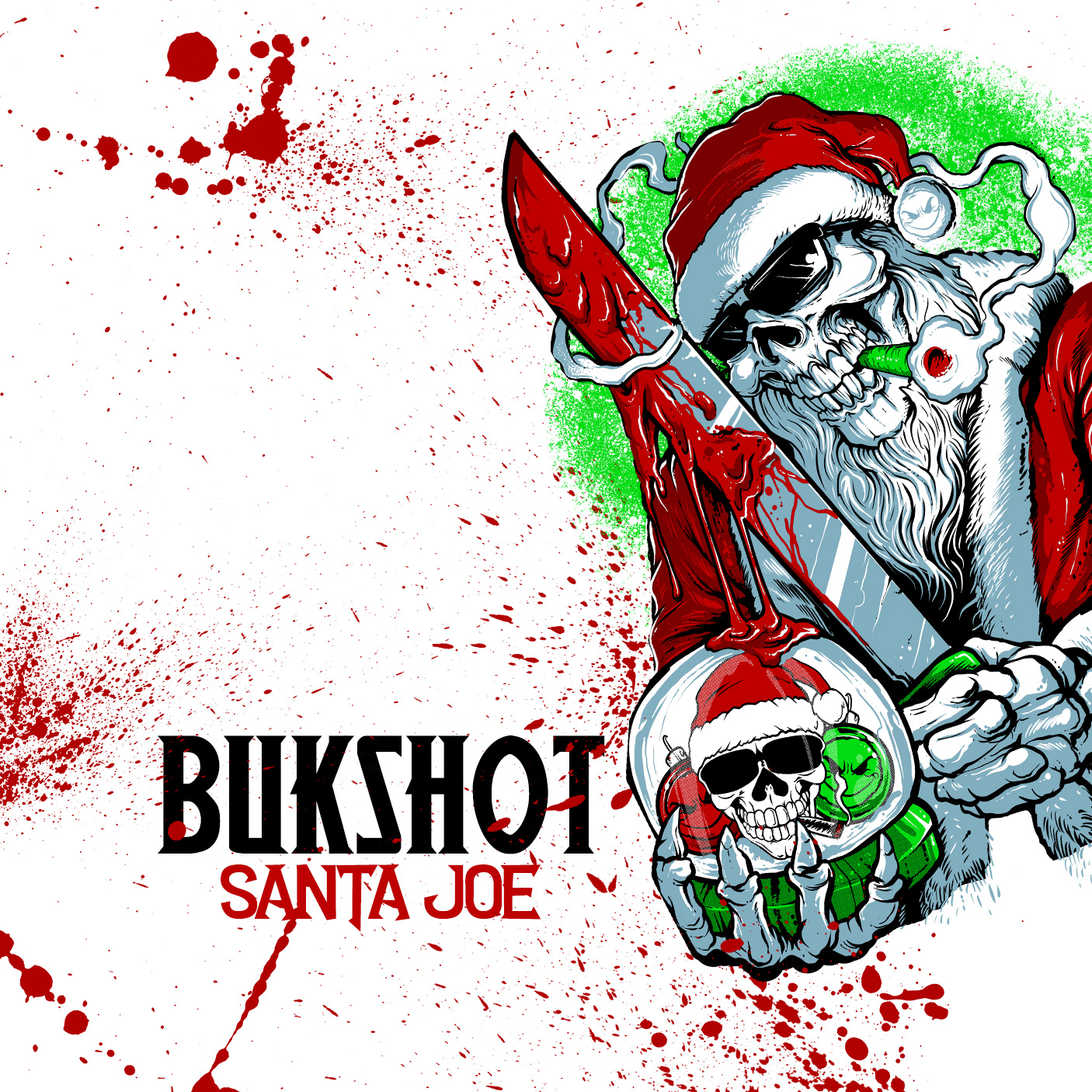 "Bukshot ""Santa Joe"" Limited Edition CD! FREE With $40 Order! (NOT OUT OF STOCK! READ DESCRIPTION!)"