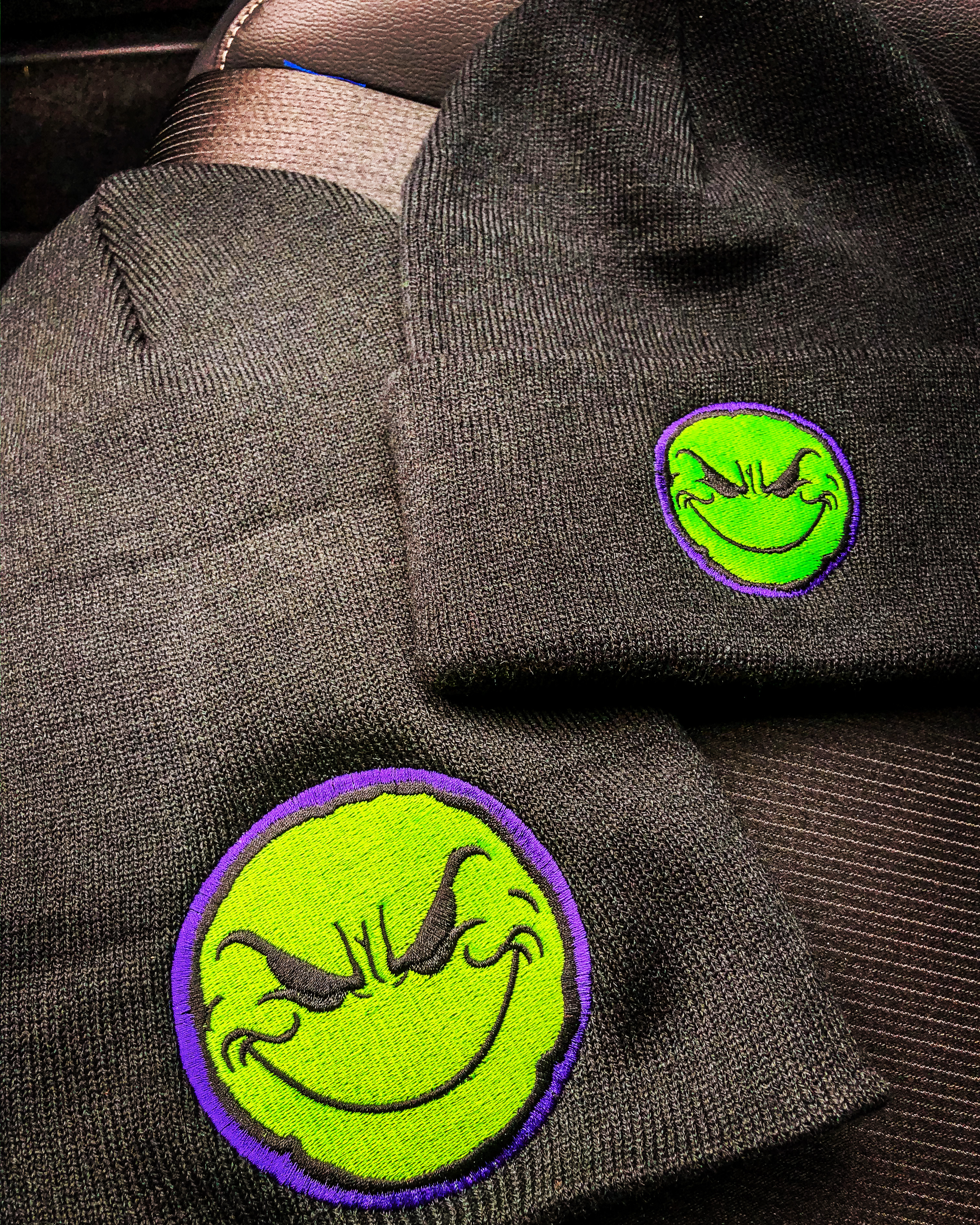 Weirdo Devastator Beanie/Toboggan (purple/green)