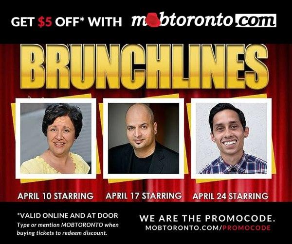 promocode#mobtoronto_brunchlines