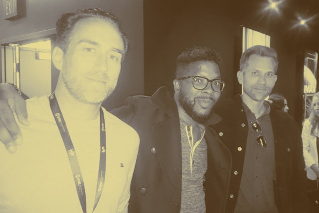 Synchronic Review Justin Benson and Aaron Moorhead with Mobster Curtis Morgan