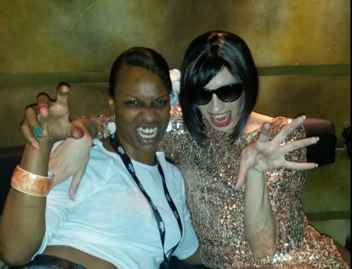Jo and Tranna Wintour