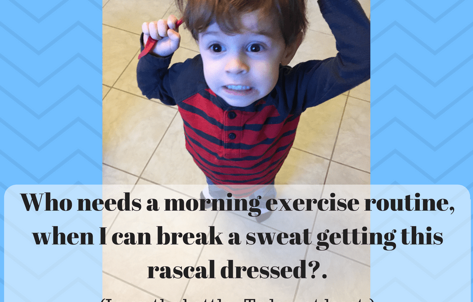 parenting as exercise