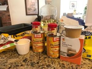 pumpkin bread recipe ingredients