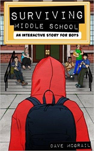 Interactive book for boys
