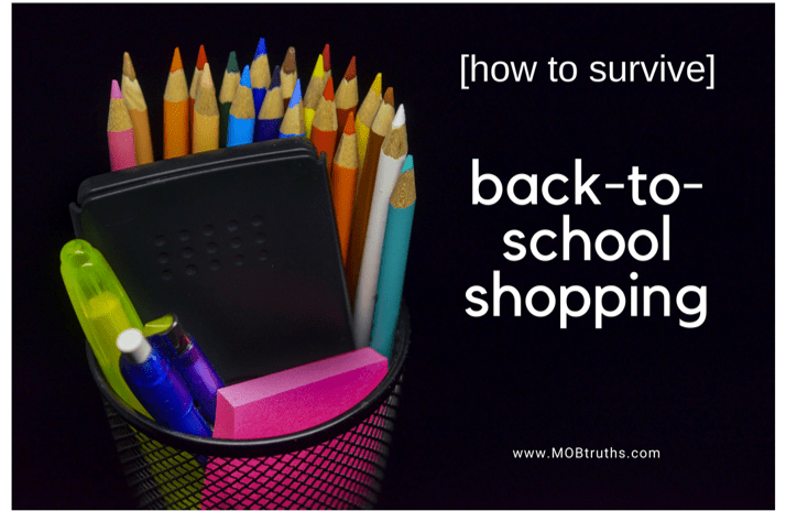 How to survive back to school shopping