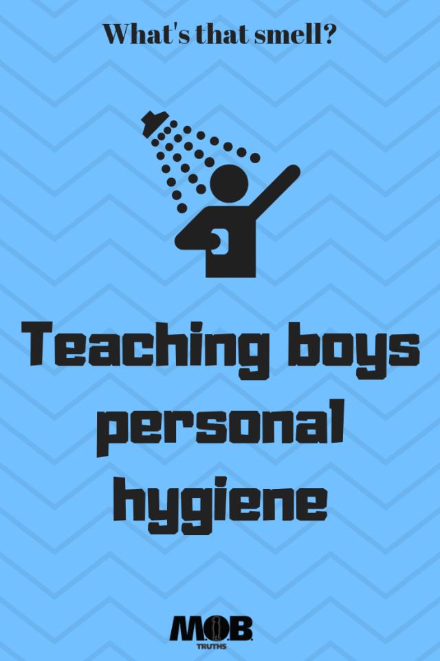 teaching boys hygiene