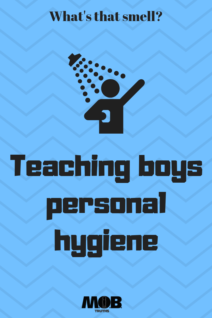 teaching boys hygiene